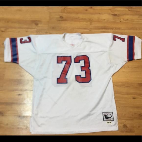 pretty nice c6f09 07353 New England Patriots Throwback Mitchell & Ness
